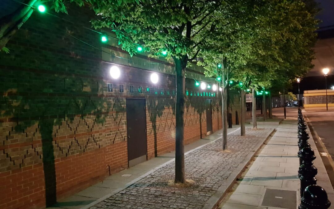 Almanaar goes green in commemoration of Grenfell Tower tragedy on 14/06/2017
