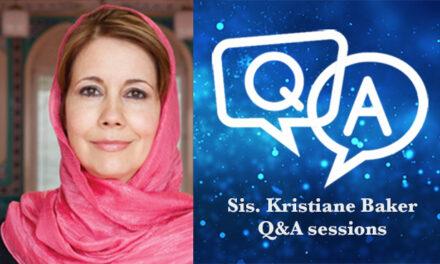 Ramadan Day 13 – Sister Kristiane Backer Session 2