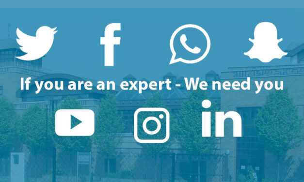Volunteer with us: Social Media Manager