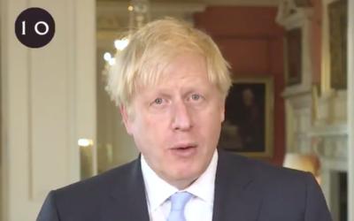 Johnson wishing Eid Mubarak 2020