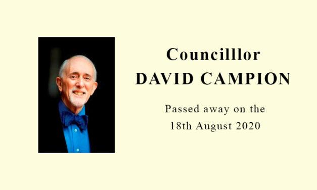Former RBKC Mayor and Al-Manaar Trustee – CLLR David Campion passes away