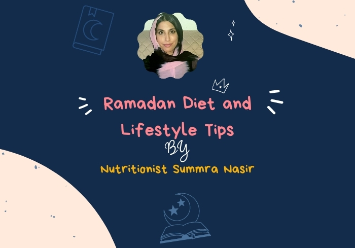 Ramadan Diet and Lifestyle Tips
