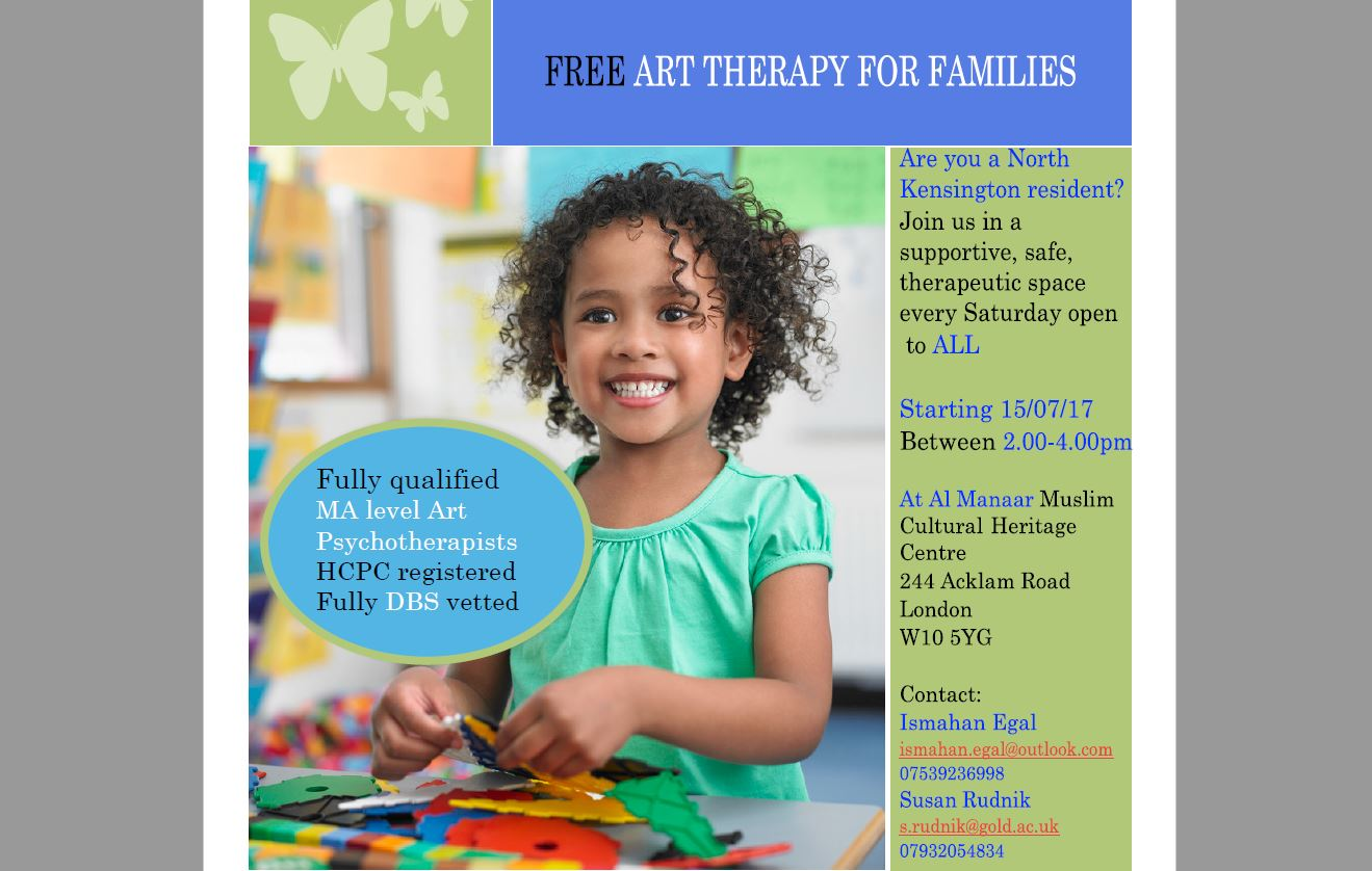 Al-Manaar Grenfell Art Therapy
