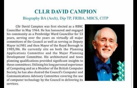 Al-Manaar celebrates the contributions of Cllr David Campion