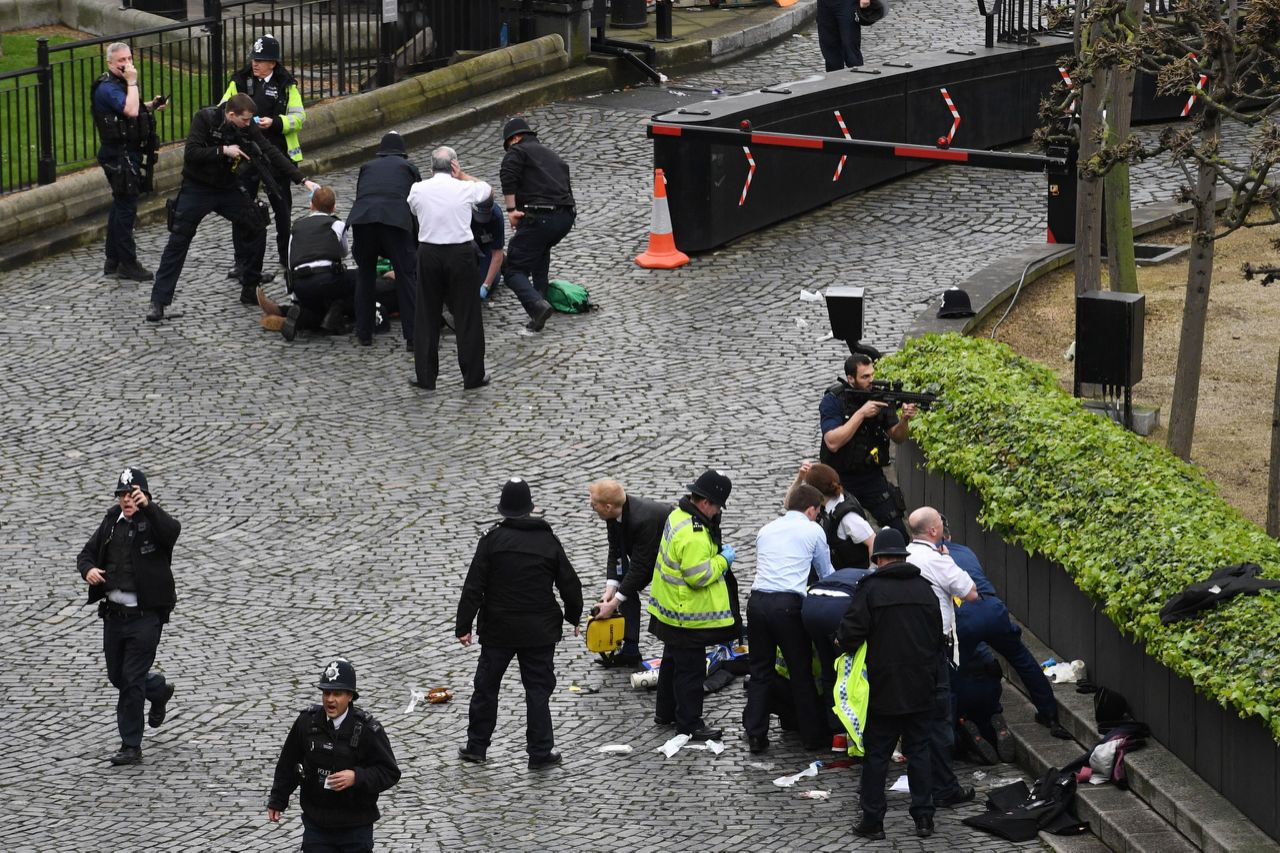 Condemnation of Attack in London   22nd March 2017